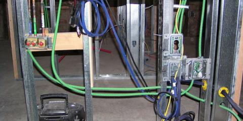 ALL electrical wiring from the original building was removed and replaced by shielded wiring